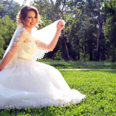 Rochie de mireasa WHITE LADY, Rochii de mireasa printesa