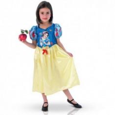 Costum de carnaval Alba ca Zapada L (7-8 ani/max 128cm) Rubies, Albastru