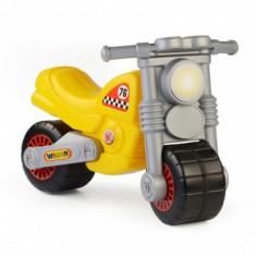 Motocicleta galbena Wader - Vehicul Molto