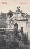 ALBA IULIA  POARTA  a III a  A  CETATII  (POARTA CAROL DE SUS POARTA PRINCIPALA), Necirculata, Printata