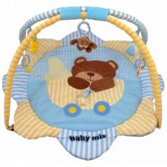 Saltea de joaca pentru copii Teddy Bear Baby Mix - Tarc de joaca Baby Mix, Multicolor