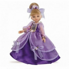 Papusa Carla printesa in rochie violet Paola Reina