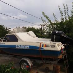 Barca + motor 60 CP + peridoc - Barca cu motor