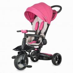 Tricicleta multifunctionala Alto Roz Coccolle - Tricicleta copii