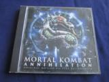 Various - Mortal Kombat _ cd,compilatie _ London Rec. (UK)