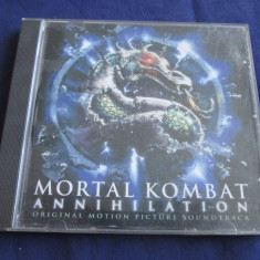 Various - Mortal Kombat _ cd, compilatie _ London Rec. (UK) - Muzica soundtrack