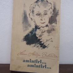 AMINTIRI...AMINTIRI .LUCIA STURZA BULANDRA - Carte Cinematografie