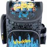 Ghiozdan ergonomic Minions Buddies 35, 5 x 27, 5 x 16 cm Disney, Multicolor