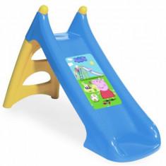 Tobogan copii XS 820609 Peppa Pig cu sistem de apa Smoby, Plastic