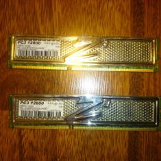 Kit memorie ddr3 OCZ platinium series, 2x2Gb, 1600 MHz, cu garantie emag - Memorie RAM