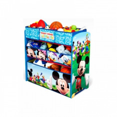 Organizator jucarii cu cadru din lemn Disney Mickey Mouse Delta Children