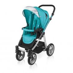 Carucior multifunctional 2 in 1 Lupo Turqoise Baby Design - Carucior copii 2 in 1
