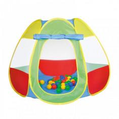 Cort de joaca cu 50 bile Bellox Knorrtoys - Casuta copii