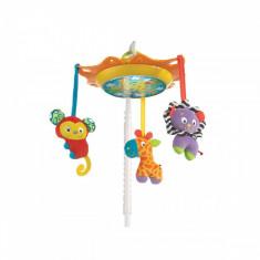 Carusel muzical cu proiector lumea junglei PlayGro - Carusel patut