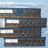 NANYA 4x1Gb ddr2 PC rami 6400E 666 perfect fuctionali (R27) - Memorie RAM