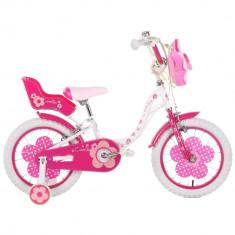 Bicicleta copii Camilla 16 inch Schiano Kids, Roz