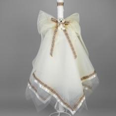 Lumanare botez Burberry Collection Nikos - Lumanari botez