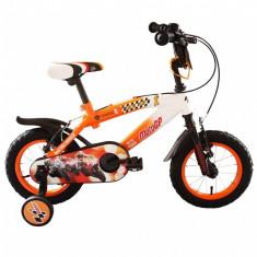 Bicicleta copii MotoGP 12 inch ATK Bikes, Portocaliu