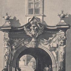 ALBA IULIA POARTA NOUA CETATII CIRCULATA 1906 - Carte Postala Transilvania pana la 1904, Printata