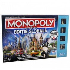 Joc de Societate Monopoly Here and Now - Joc board game