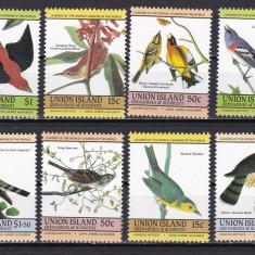Union 1985 fauna pasari MI 78-85 MNH w45 - Timbre straine, Nestampilat