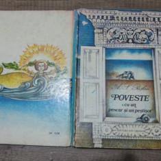Poveste cu un pescar si un pestisor - A.S. Puskin/ ilustratii Vasile Socoliuc - Carte de povesti