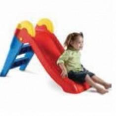 Tobogan Junior Rosu cu Albastru Europlast - Tobogan copii, Plastic