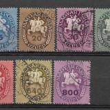 Ungaria 1946, Stampilat