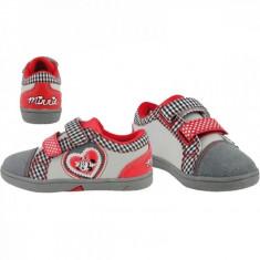 Pantofi pentru scoala Minnie Mouse 33 Disney - Adidasi copii Minnie, Fete, Gri