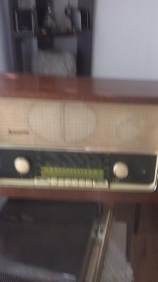Aparat Radio pe lampi  German Bruns foto