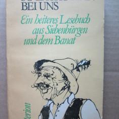 Carte in limba germana: So lacht man bei uns / Banat und Siebenburgen - Carte in germana