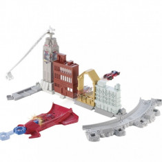 HW Marvel Spinning Web Swing Track Set Mattel - Masinuta