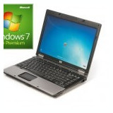 Laptop refurbished HP Compaq 6530b P8600 2.4GHz/2GB/60GB cu Windows 7 Home Premi - Laptop HP