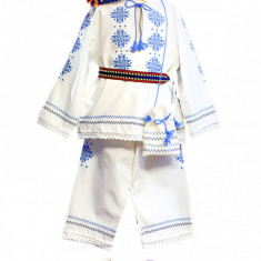 Costum popular botez X0031 80 cm Deco Artis