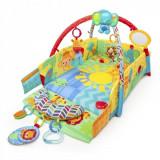 Salteluta de joaca 5 in 1 Sunny Safari Baby s Play Place Bright Starts