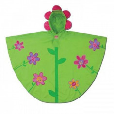 Poncho copii Flower Stephen Joseph, Verde