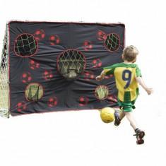 Poarta minifotbal Super Goal cu plasa de antrenament TP Toys - Casuta copii TP Toys, Plastic