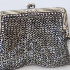 Portofel argint dama Vintage