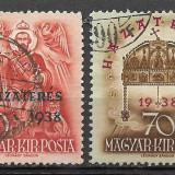 Ungaria 1938, Stampilat