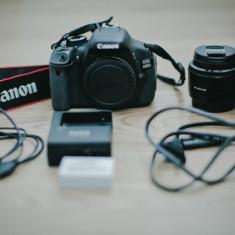 Vand body Canon EOS 600D + 2 obiective - Aparat Foto Canon EOS 600D