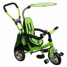Tricicleta copii cu scaun reversibil Safari WS611 Green Baby Mix