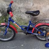 Bicicleta copii foarte putin utilizata