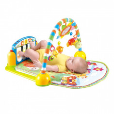 Saltea de activitate Piano Gym Blue Lorelli - Tarc de joaca Fisher Price