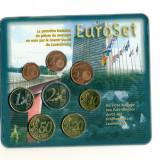 LUXEMBOURG - Set Monetarie 2002 - 8 monede, Euro, Europa