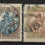 Ungaria 1921, Stampilat