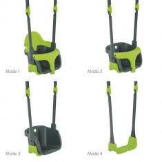 Leagan bebe Quadpod 2 Standard TP Toys, Verde, Plastic