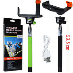 Selfie stick monopod wireless