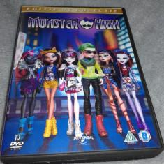 Monster High Editie de colectie - 10 DVD filme dublate romana - Film animatie universal pictures
