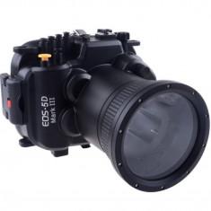 Carcasa subacvatica waterproof Meikon pentru Canon 5D MK III - Husa Aparat Foto