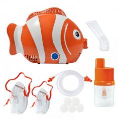 Aparat de aerosoli cu compresor Healthy Fish Scian - Aparat aerosoli copii